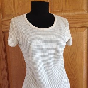 T shirt ivory made in Italy
